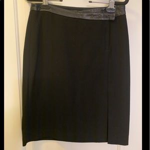 BCBGMaxazria short black skirt